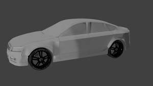 First car WIP2 by Conviley