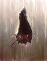 Pupa Hatching Spitpainting by SandroRybak