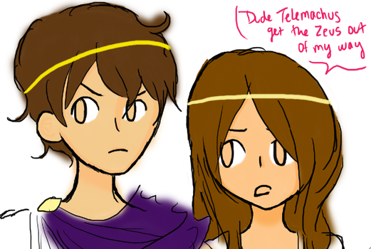 maturation telemachus Telemachus' earlier observations is quite destroyed by this adolescent rudeness,   penelope soon makes the connection between his maturation and her own.