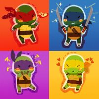Stitchy Ninjas by pirate-pet