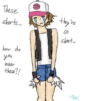 Who Wears Short Shorts? by miinyuu