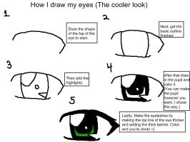 How I make Eyes 1 by Sokklafan11