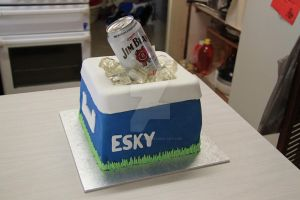 Esky Cake by The-Ice-Flower
