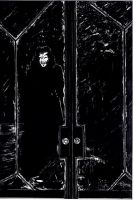 DRACULA at Lucy's Door window by teddy09