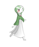 PkmW #7: Gardevoir by LandonBridge