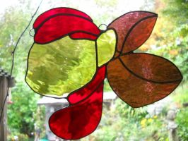 Stained Glass Apple Bloom by Rhamphorhynchus