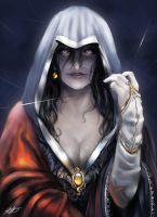 The Sorceress by HalloweenHolidayDoor