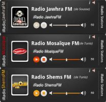iRadio Layout by Fnayou