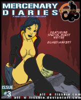 Merc Diaries Issue 3 - Cover by CallMePlisskin