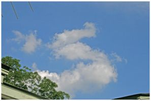 Clouds Shaped Like Letter S by shawn529