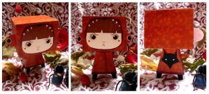 PaperToys Little red riding... by RozennB