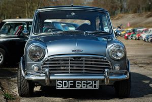 1969 Austin Mini Cooper by FurLined