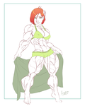 Bettie, Queen of the Beach by Lord-Eustache