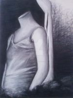 Charcoal drawing by veiartistica