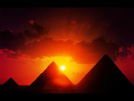 Egyptian Sunset by Therar
