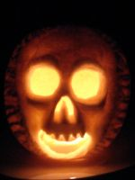 Awesome Pumpkin 2 Lit by THE-R4GE
