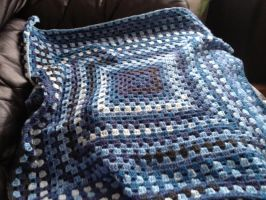 Crochet Baby Blanket by Riolama