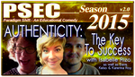 PSEC 2015 AUTHENTICITY The Key To Success by paradigm-shifting