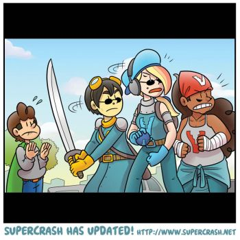 Supercrash! Chapter 6, page 14 (B) by TheBourgyman