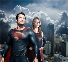 SuperMan - SuperGirl by PZNS