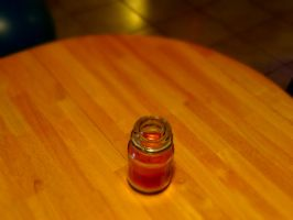 Tiny Candle by Puccoon