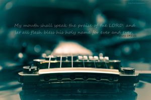 Psalms 145:21 by Tadakatsukaw