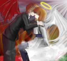 Good vs Evil: Love is War by Thanatos-ARG