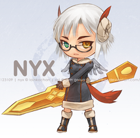Commission: Nyx by lires