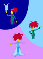 The Simpsons: Sideshow Bob Lets it Go by Lizlovestoons12