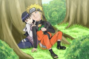 naruhina : I LOVE YOU by blue1style