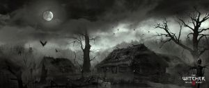 Marek Madej swamp village by marekmadej by Scratcherpen
