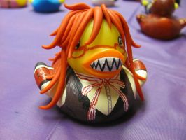 Grell Sutcliffe Duck 2 by spongekitty