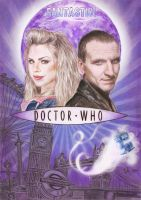 Doctor Who Series One Poster by Sini-M