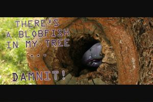 BLOBFISH IN MY TREE by tattiOsala