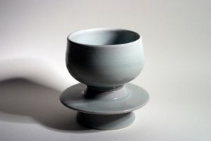Cup and Saucer by meimicat