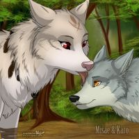 Misae and Karo - WZ by RukiFox