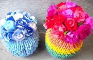 Mother's Day: Crepe Paper Roses by SophieEkard