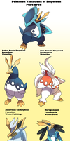 Pokemon Subspecies Empoleon by Phatmon66