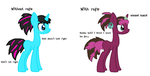 Mindy - With and without refs by Pixillon12Donuts