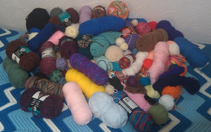 My Yarn Stash by YunisUnis