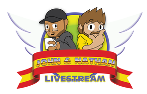 John and Nathan Livestream Title Card by PNSK