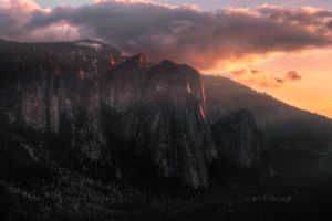 Cathedral Rocks, Yosemite Valley, Spring 2013 by AugenStudios
