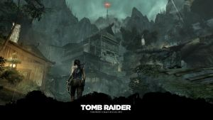 TOMB RAIDER (2013) Night hub Wallpaper (1920x1080) by Mikky100