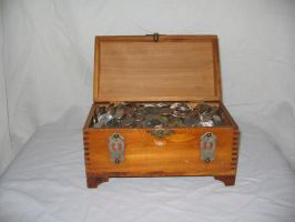 Treasure Chest 1 by Hjoranna