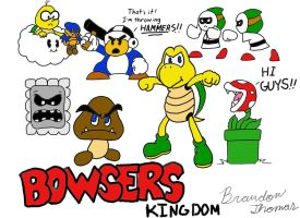 Bowser's Kingdom Characters by yoshimario64