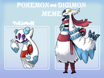 Pokemon to Digimon Meme by Strontium-Chloride