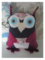 Owl Plushie 1 by antmee