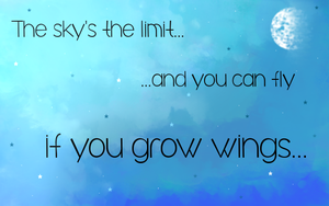 The sky's the limit... by PrincessPyrefly