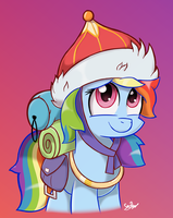 Mongol Dashie by sheandog