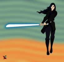 Revan on the Outer Rim by Lady-Germs